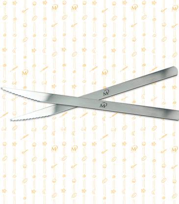 Marcel Paa - Pariserbrotklinge gezackt, 13 cm, 1 Stück