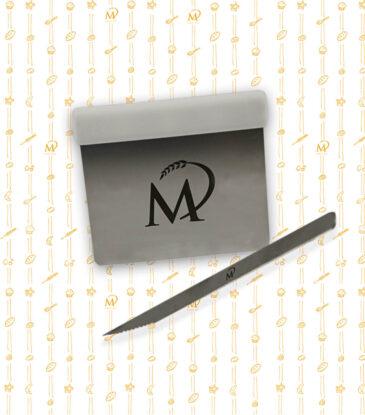 Marcel Paa - Brot Starter Kit mit Pariserbrotklinge gezackt & Teigabstecher