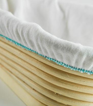 Gärkorb-Bezug für lange und ovale Formen, bis 1 kg Teig